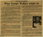 What George Wallace might do