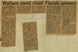 Wallace could cloud Florida primary