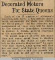 Decorated motors for state queens