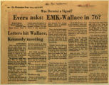 Evers asks EMK Wallace in 76