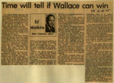 Time will tell if Wallace can win