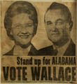 Stand up for Alabama vote Wallace