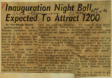 Inauguration night ball expected to attract 1200