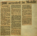 200 arrested in Mobile