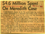 4 6 million spent on Meredith case