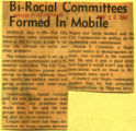 Biracial committees formed in Mobile