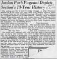 Jordan Park Pageant depicts section's 73-year history