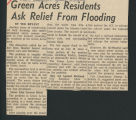 Green Acres residents ask relief from flooding