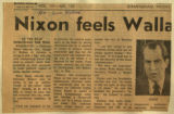 Nixon feels Wallace seeking a fight