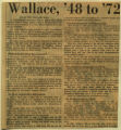 Wallace 48 to 72 unknown to VIP