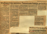 Wallace trip successful Tennessee keeps primary