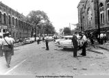 Sixteenth Street Baptist Church bombing -- emergency personnel in street
