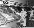 Hill's Grocery Company's produce department