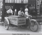Gaines Grocery Co. Delivery Motorcycle