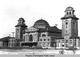 Birmingham's Terminal Station, west front view