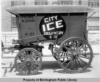 City Ice Delivery Company wagon