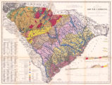 Map of the State of South Carolina