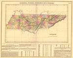 Geographical, Statistical, and Historical Map of Tennessee