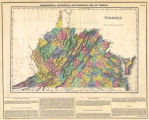 Geographical, Statistical, and Historical Map of Virginia