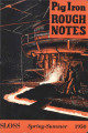 Pig iron rough notes. 1950 heat no. 111 (Spring-Summer)