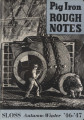 Pig iron rough notes. 1946-1947 heat no. 103 (Autumn-Winter)